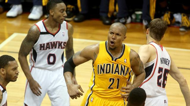 Basketball - Pacers stay alive against Hawks