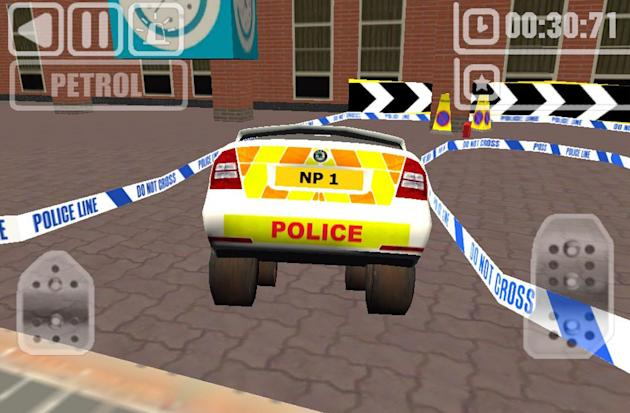 A police force has been ridiculed for releasing an iPhone app which gamers say bears a distinct resemblance to violent crime game Grand Theft Auto.