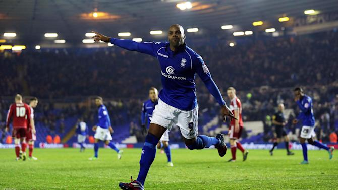 Marlon King grabbed a brace as Birmingham City snatched a dramatic win