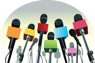 Rally Employees to Generate PR for Your Business image PR microphones