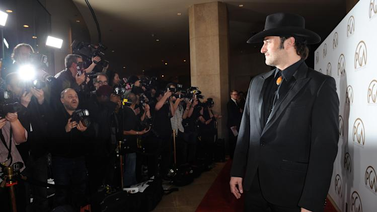 IMAGE DISTRIBUTED FOR THE PRODUCERS GUILD - Robert Rodriguez arrives at the 24th Annual Producers Guild (PGA) Awards at the Beverly Hilton Hotel on Saturday Jan. 26, 2013, in Beverly Hills, Calif. (Photo by Jordan Strauss/Invision for The Producers Guild/AP Images)