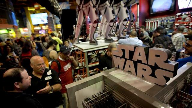 Hasbro earnings rise thanks to Star Wars toys