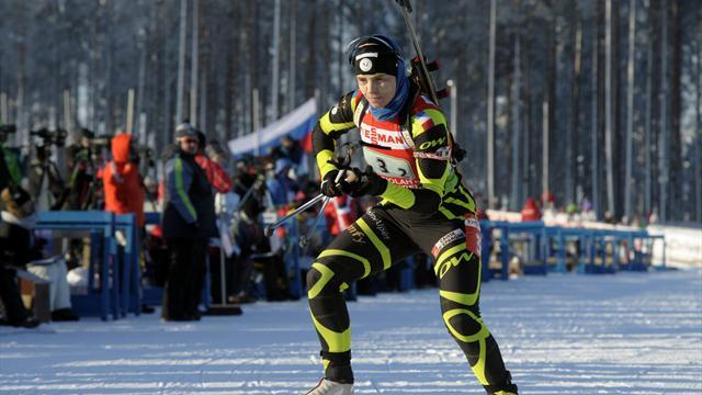 Biathlon - Bescond marks first World Cup podium finish with gold in Antholz