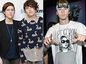 Tegan and Sara, Machine Gun Kelly to Co-Host mtvU Woodie Awards