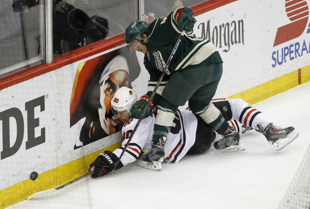 Kane, Crawford carry Blackhawks past Wild 1-0 for 3-0 lead