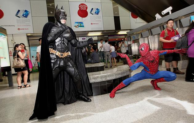 Batman and Spider-man