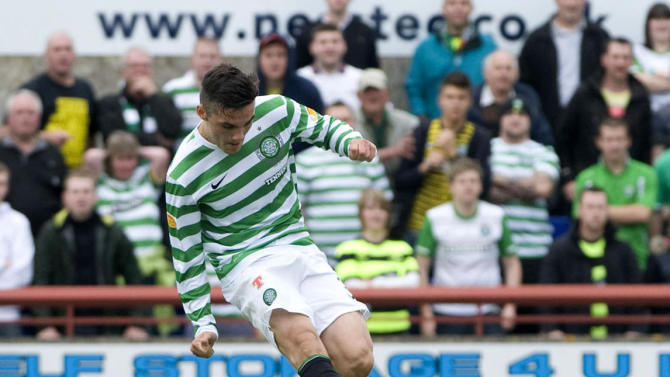 Tony Watt committed his future to Celtic on Thursday