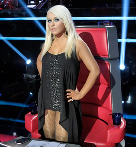 Christina Aguilera Explains Her Super Sexy Looks on The Voice