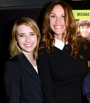 Julia Roberts, Niece Emma Roberts Hit Red Carpet Together!