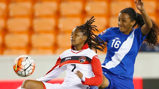 Guatemala v Trinidad & Tobago: Group B - 2016 CONCACAF Women's Olympic Qualifying