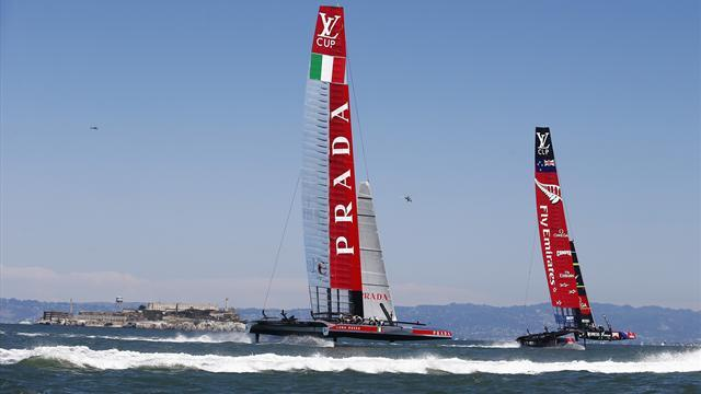 Sailing - Kiwis on cusp of earning America's Cup showdown