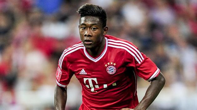 Bayern Munich's David Alaba (PA)