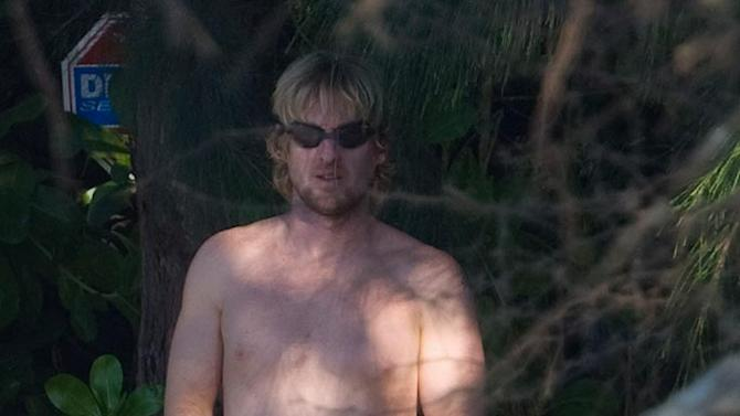 Owen Wilson Hawaii Vacation
