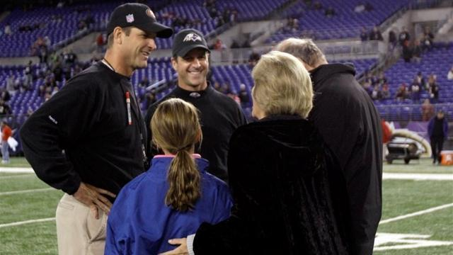 NFL  - Harbaugh brothers eye Super Bowl first