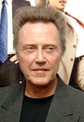 Christopher Walken at the New York premiere of New Line Cinema's Wedding Crashers