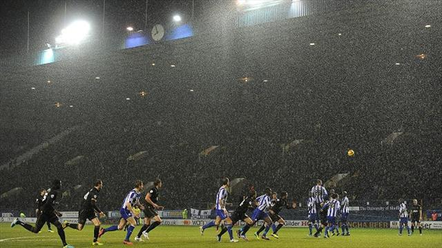Football - Bosses endure wet Wednesday woe