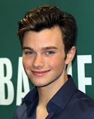Chris Colfer promotes 'The Land Of Stories' at Barnes & Noble Union Square, New York City, on July 18, 2012 -- Getty Premium