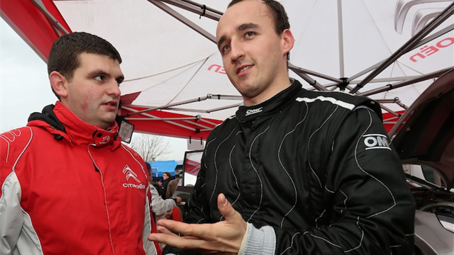 ERC - Kubica to race in four European rallies in 2013
