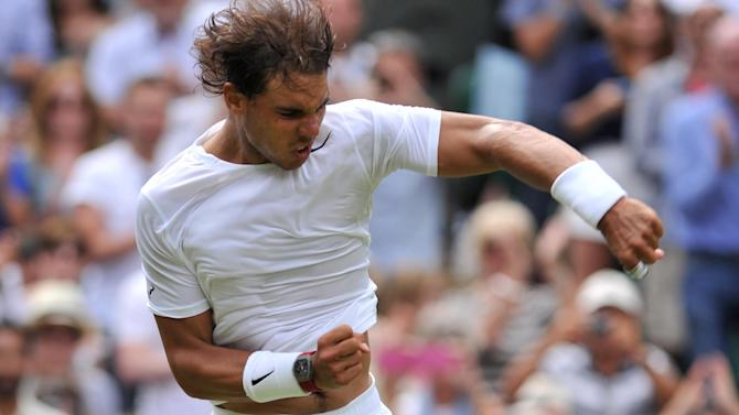 Wimbledon - Nadal eyes easier passage to fourth round