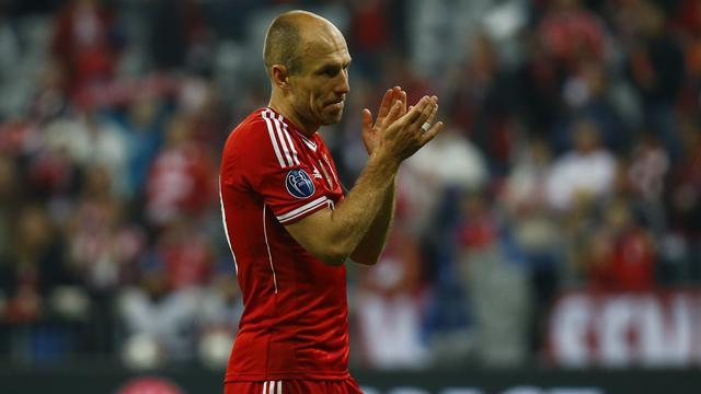 Champions League - Robben launches scathing attack on Chelsea and Atletico Madrid