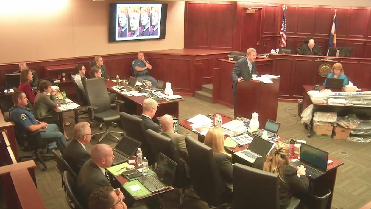 James Holmes' revealing courtroom behavior during the Colorado theater shooting trial