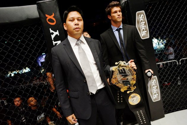 ONE FC CEO and owner Victor Cui. (Yahoo! Photo)