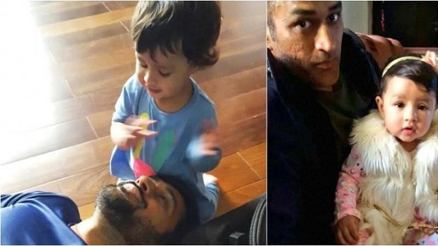 Dhoni's daughter Ziva is the cutest on Snapchat