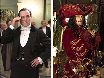Jason Isaacs as both Mr. Darling and Captain Hook in Universal's Peter Pan