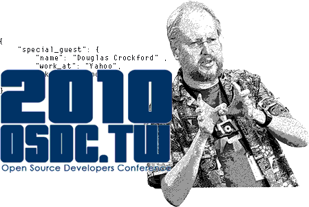 Doug Crockford at Open Source Developer Conference Taiwan 2010