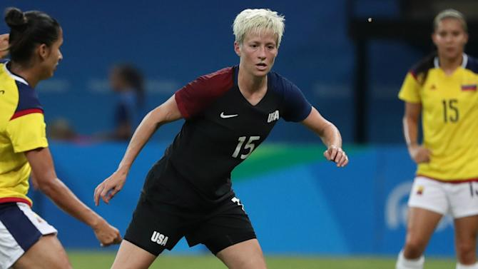 Rapinoe, Morgan return for final USWNT matches of 2016