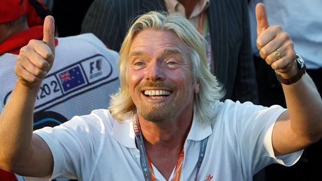 Formula 1 - Richard Branson to work as stewardess after bet