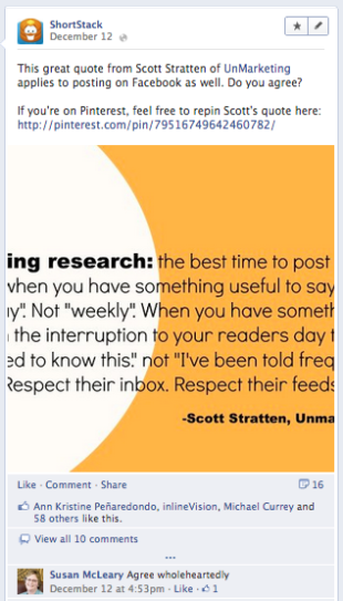 10 Quick Tips for Posting Better Facebook Status Updates image Screen Shot 2012 12 17 at 1.04.48 PM2