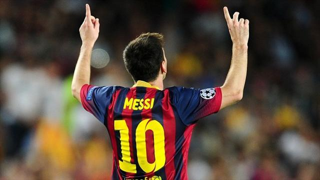 Liga - Rummenigge rules out Messi bid