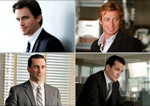 Dapper Bad Boys Do Battle: White Collar Vs. The Mentalist! Mad Men Vs. Suits!