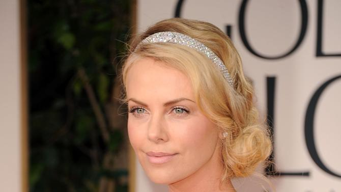 FILE: Charlize Theron Adopts A Baby Boy