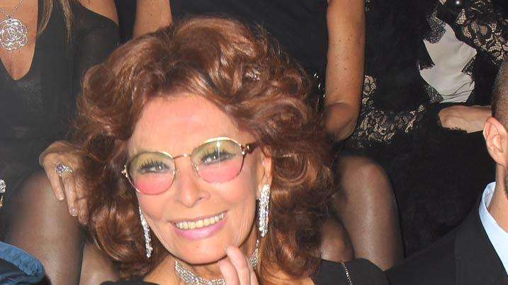 Sofia Loren Paris Fshn Week