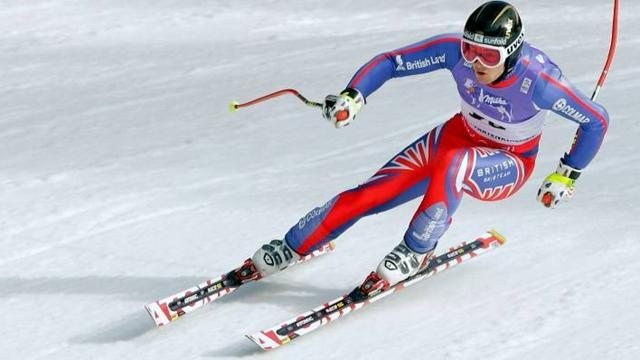 Baldwin wins British Super-G