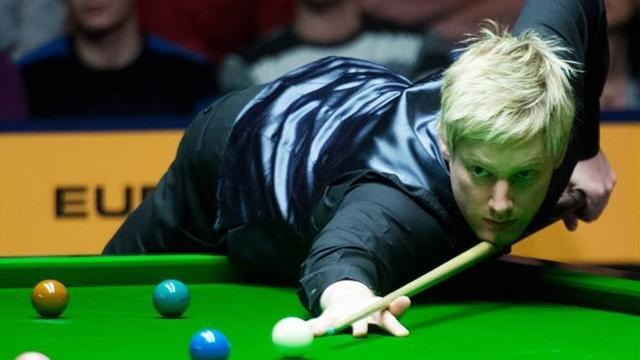 Snooker - Robertson v Maguire: LIVE