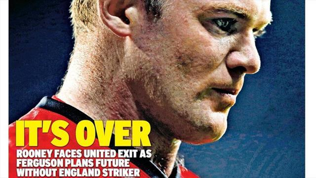 Premier League - Paper round: 'It's over' for Rooney and United