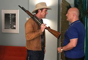Dennis Quaid and Michael Chiklis | Photo Credits: Lorey Sebastian/CBS