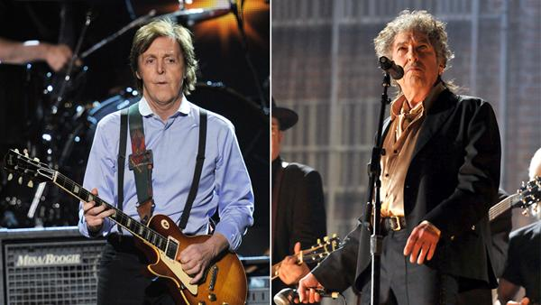 Paul McCartney, Bob Dylan Recordings Added to Grammy Hall of Fame
