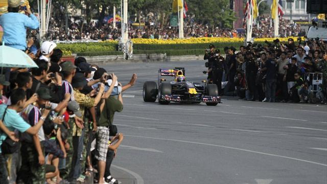 Formula 1 - Thailand now aiming for F1 race in 2015