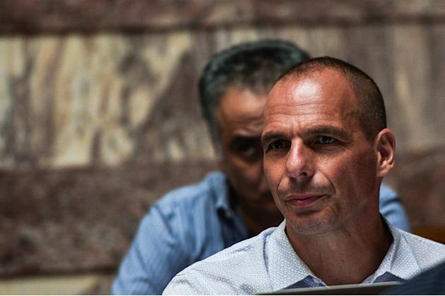 Greece's former finance minister Yanis Varoufakis picture in Athens on July 15, 2015