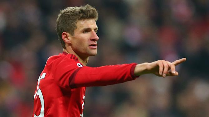 Muller: Bayern on track for Champions League glory