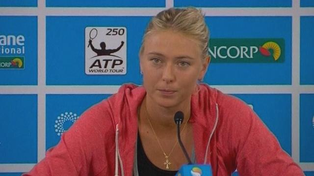 Australian Open - Deja vu for 'cold' Sharapova in Melbourne