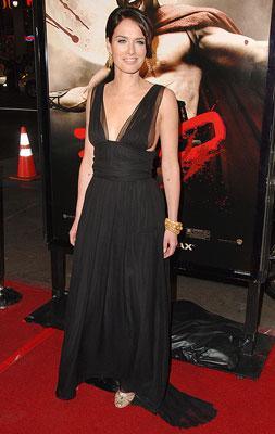 Lena Headey at the Los Angeles premiere of Warner Bros. Pictures' 300