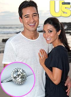 Mario Lopez's $80,000 Engagement Ring for Courtney Mazza: All the Details!