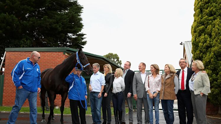 Black Caviar Press Conference