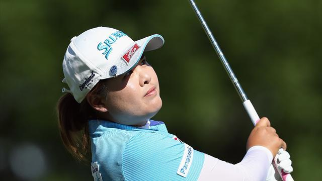 Golf - Korean Park moves two ahead at US Women's Open