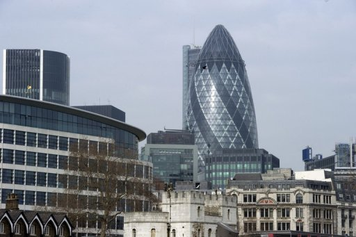 A general view of the City of London, London's main financial district, pictured in February. The jailing of rogue UBS trader Kweku Adoboli, convicted of Britain's biggest ever fraud, is the latest damaging scandal to rock London's financial district and spark fresh concerns over its conduct.